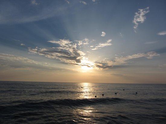 Residence Perla Bianca: tramonto
