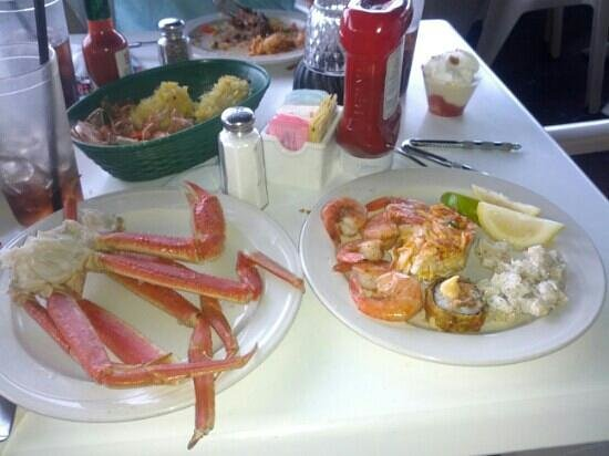 Crab Legs Sushi And Shrimp At The Buffet Picture Of Bonefish