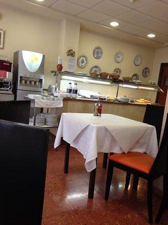 Hotel Primavera: Bufet