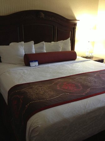 Best Western Plus Abbey Inn : great night's sleep in a comfortable king size bed