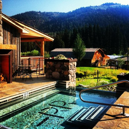Rainbow Ranch Lodge : The hot pool