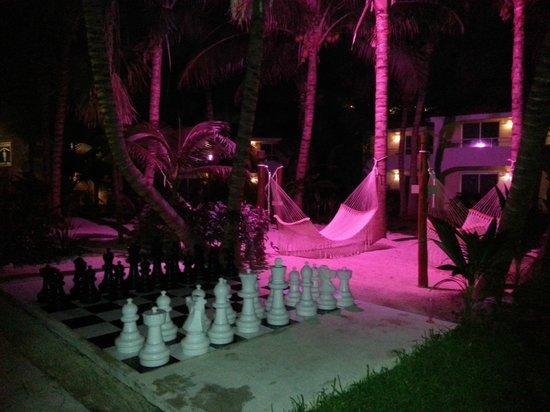 El Dorado Sensimar Riviera Maya: Anyone for chess