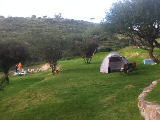 Xote Parque Acuatic Camping: Campamento