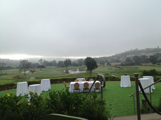 Omni La Costa Resort and Spa: Looking out at the golf course