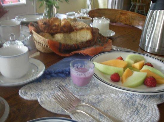 Milford, Kanada: Homemade breakfast
