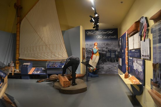 New Brunswick Museum History Exhibit