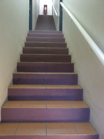 Bonapartes Serviced Apartments : Steps and more steps - no lifts