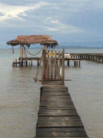 Hotel Tierra Verde: The dock