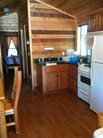 Mt. Lassen / Shingletown KOA: Nice cabins!