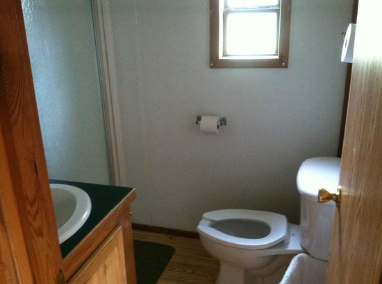 Devils Tower KOA: bathroom