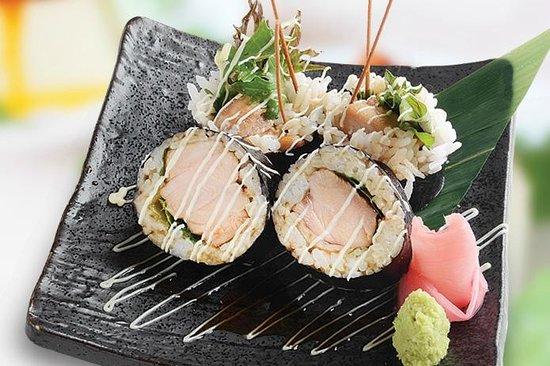 Musashi Japanese Cuisine - St Heliers: Teriyaki Chicken Roll