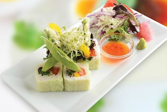 Musashi Japanese Cuisine - St Heliers: Vegetable Roll