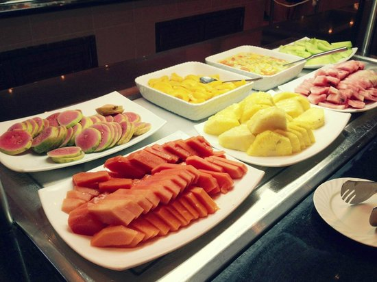 Fresh Fruit everyday at the Buffet