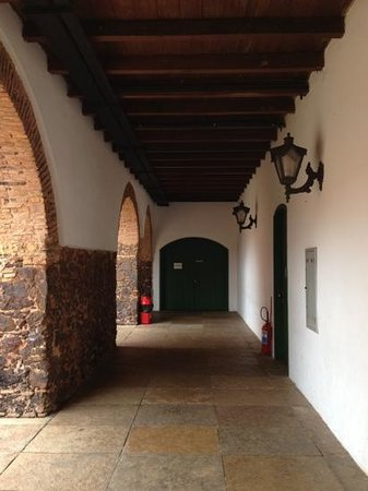 Convento Das Merces : Corredor do Convento das Mercês.