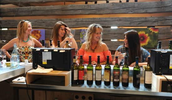 Heart of Texas Wine Tours : Just one of the wineries we went to, so much fun we had all day!