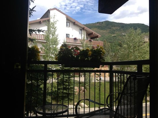 Vail Marriott Mountain Resort : view from our balcony, room 377