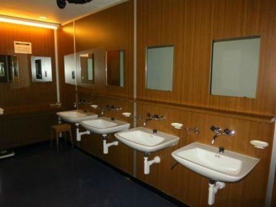 Lucerne Backpackers Hostel : common bathroom