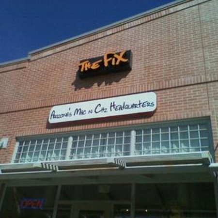 The Fix sign/logo