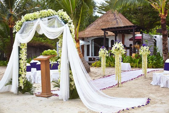 wedding ceremony decorations Picture of Paradee Resort Spa
