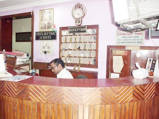 Hotel Ashok : Reception