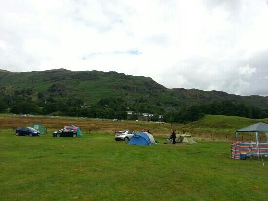 Baysbrown Farm Campsite: plenty of space, no cramped pitches