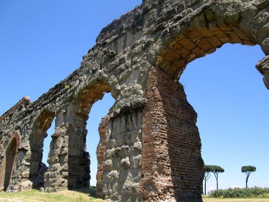 Parco Regionale dell'Appia Antica: なかなか立派な水道橋