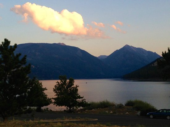 Wallowa Lake Resort: North shore of Wallowa Lake