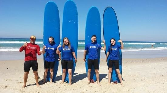 Lets Go Surfing Byron Bay: thanks Doug and Serena for the course!