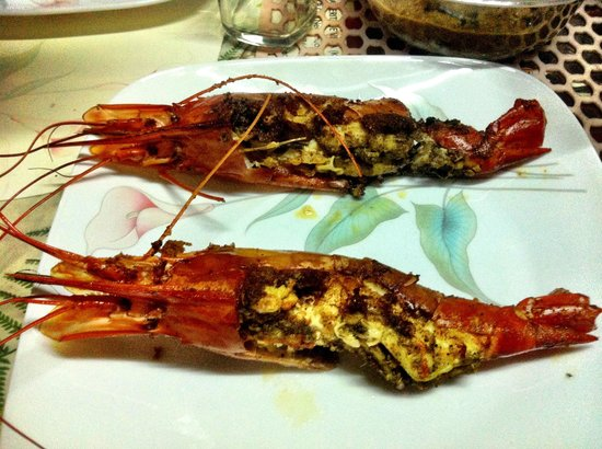 The Pamba Heritage Villa: Amazing Prawns