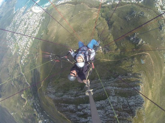 Fly Cape Town Paragliding: What a view!
