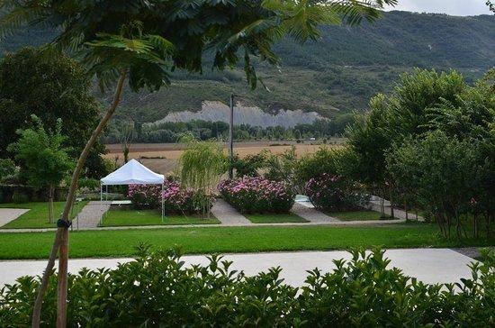 Villa Clementina Hotel: jardín