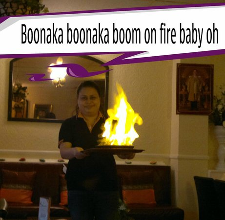 Boonnak Thai Restaurant: more Flaming Ribs