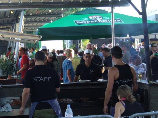 Hostellerie des Pecheurs: Local beer festival !