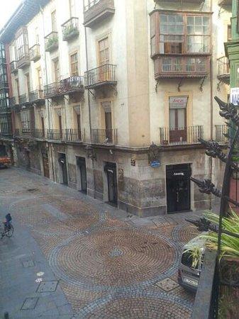 Pensión Méndez: Calle Santa Maria