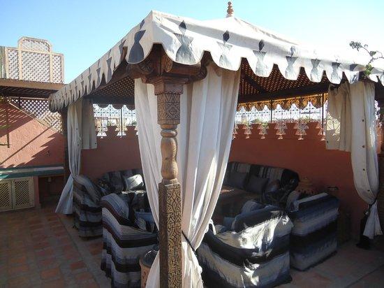 Riad Ghali & SPA: Terraza