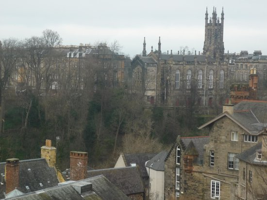 The Bonham Hotel: view from room