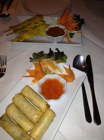 Leelawadee Thai Restaurant & Tapas: starters