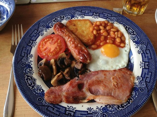 Eve's Bed And Breakfast: Full english breakfast !