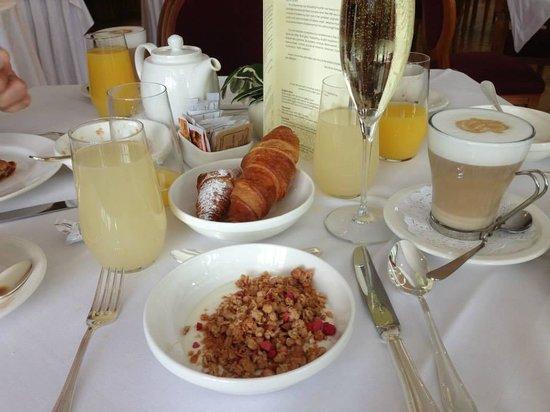 Grand Hotel Bagni Nuovi: Breakfast
