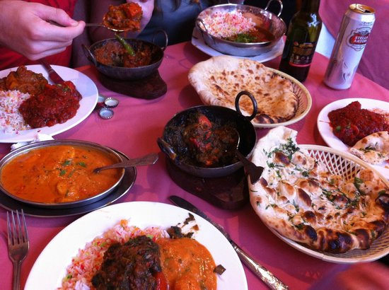 Bengal Spice: Our meal