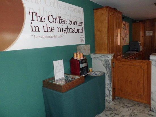 Hotel Valle Aridane: Coffee Corner