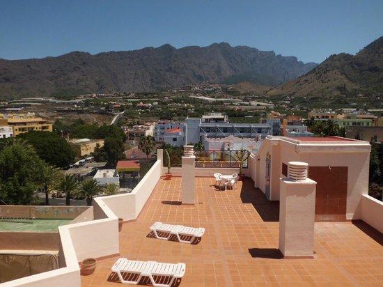 Hotel Valle Aridane: Terraza Solarium