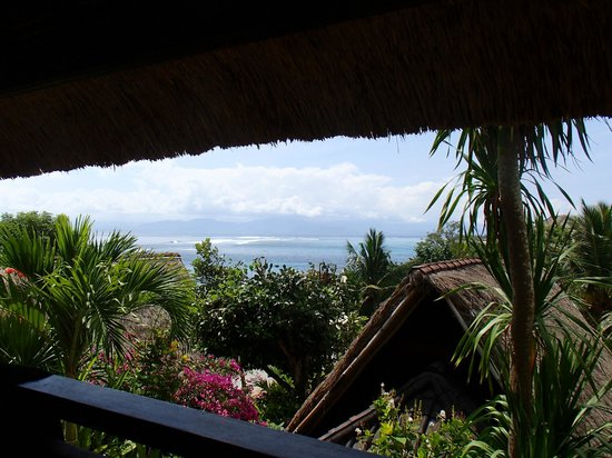 Song Lambung Beach Hut: view from room