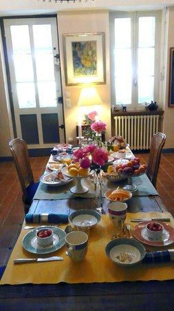 Domaine Mongiron: Das Schlemmerfrühstück