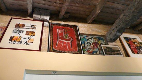 Domaine Mongiron: und noch mehr Kunst im Schlafzimmer