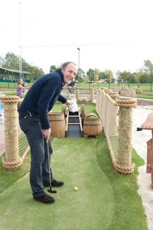 Mr Mulligan's Pirate Golf : ...and your never too old. Corporate days are popular.