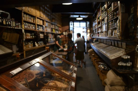 Casa Gispert: Interior con aromas de antugüedad