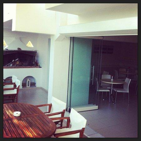 Saint Vlassis Hotel : Sala Colazione/Bar