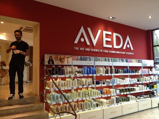 Aveda Hair & Beauty: nel salone