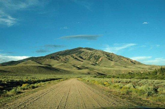 The Historic Elk Mountain Hotel : Sur la piste
